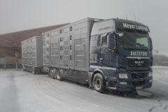 LKW im Winter